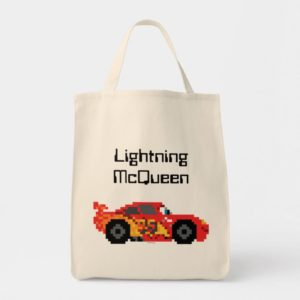 8-Bit Lightning McQueen Tote Bag