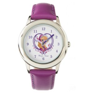 Anna   Radiant Heart Wrist Watch