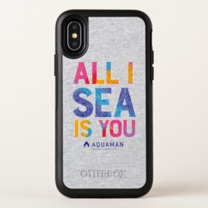 "Aquaman | ""All I Sea Is You"" Colorful Paisley OtterBox iPhone Case"
