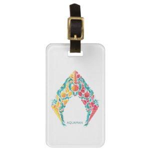 Aquaman | Aquaman & Mera Themed Seashell Logo Bag Tag