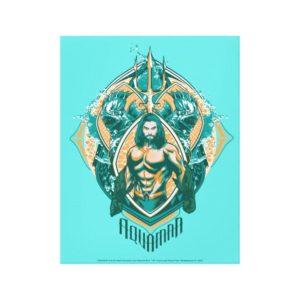 Aquaman | Aquaman & Trenchers Graphic Canvas Print