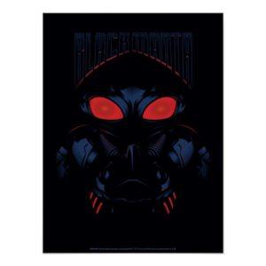 Aquaman | Black Manta Shadowy Graphic Poster