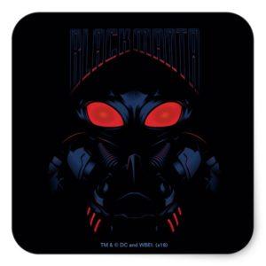 Aquaman | Black Manta Shadowy Graphic Square Sticker