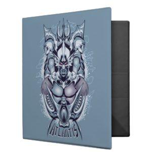 Aquaman | King Orm of Atlantis Graphic 3 Ring Binder