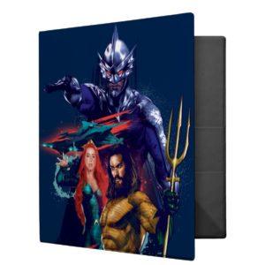 Aquaman | King Orm Versus Mera & Aquaman 3 Ring Binder