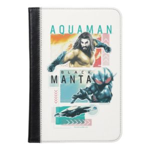 Aquaman   Modernist Aquaman & Black Manta Graphic iPad Mini Case