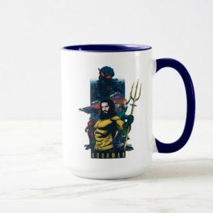 Aquaman | Orin, Mera, and Black Manta Graphic Mug