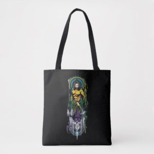 Aquaman | Orin & Orm Reversible Art Nouveau Panel Tote Bag