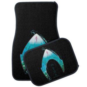 Aquaman   See Through Mera Symbol Ocean Graphic Car Floor Mat