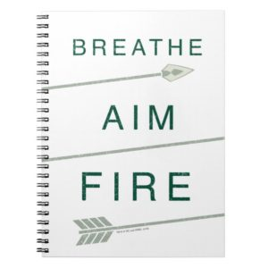 Arrow | Breathe Aim Fire Notebook