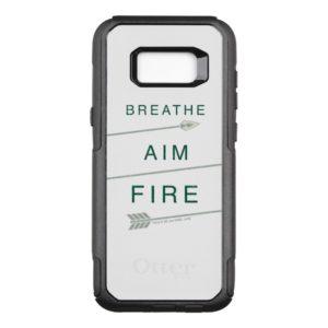 Arrow | Breathe Aim Fire OtterBox Commuter Samsung Galaxy S8+ Case