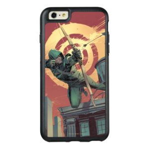 Arrow | Green Arrow Fires From Rooftop OtterBox iPhone Case