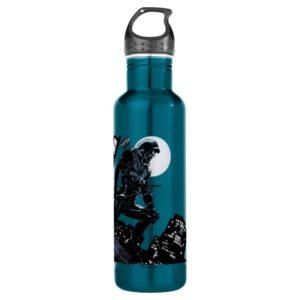 Arrow | Green Arrow In Moonlight Stainless Steel Water Bottle