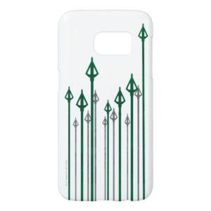 Arrow   Vertical Arrows Graphic Samsung Galaxy S7 Case