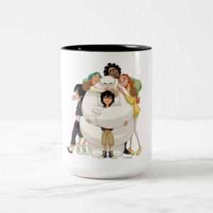 Baymax and his Friends Two-Tone Coffee Mug