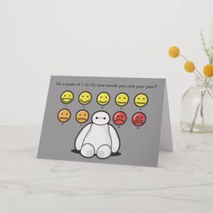 Baymax Emojicons   Get Well Card