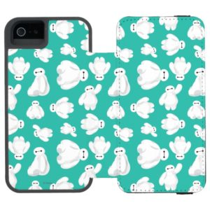 Baymax Green Classic Pattern Incipio iPhone Wallet Case