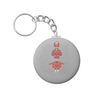 Baymax Orange Super Suit Keychain