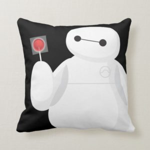 Big Hero 6 | Baymax with Lollipop Throw Pillow