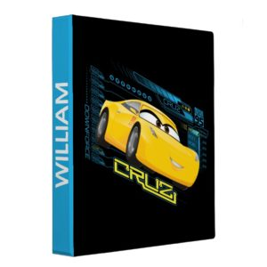 Cars 3 | Cruz Control Binder