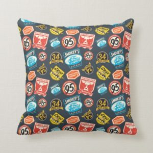 Cars 3 | Piston Cup Champion Pattern Throw Pillow