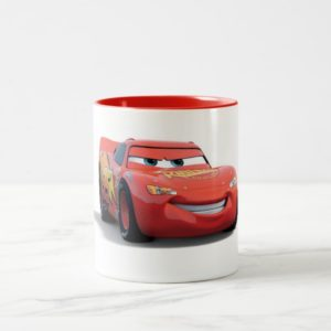 Cars' Lightning McQueen Disney Two-Tone Coffee Mug