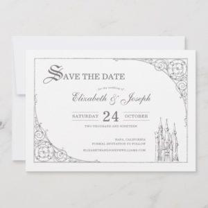 Cinderella Castle   Fairytale Save the Date