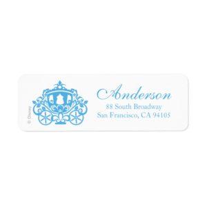 Cinderella Wedding   Carriage Label