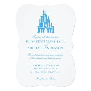 Cinderella Wedding   Castle Invitation