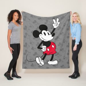 Classic Mickey Mouse | Cool Beyond Years Fleece Blanket