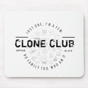 Clone Club Logo Mouse Pad