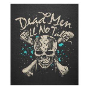 Dead Men Tell No Tales Fleece Blanket