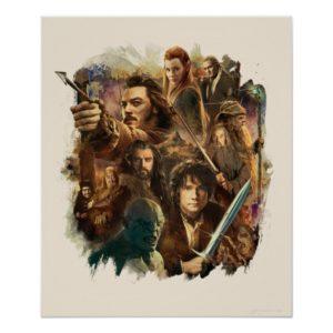 Desolation of Smaug Characters Poster