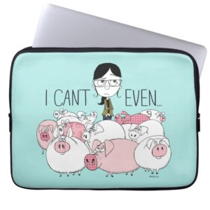 Despicable Me   Margo - I Can't Even Computer Sleeve