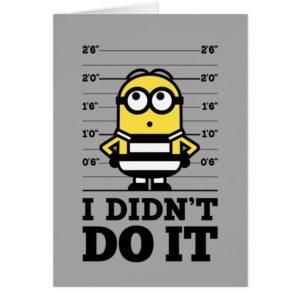 Despicable Me | Minion Dave - I Didn't Do It