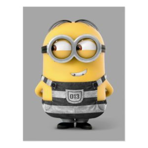 Despicable Me | Minion Dave in Jail Postcard
