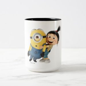 Despicable Me | Minion Stuart & Agnes Two-Tone Coffee Mug