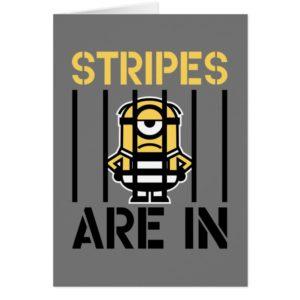 Despicable Me | Minion Stuart Stripes are in