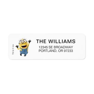 Despicable Me   Minion Tom Excited Label