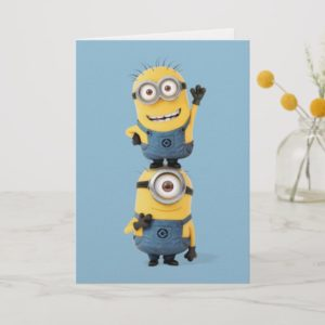 Despicable Me | Minions Tom & Stuart Stacked Card