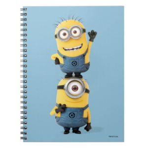 Despicable Me | Minions Tom & Stuart Stacked Notebook
