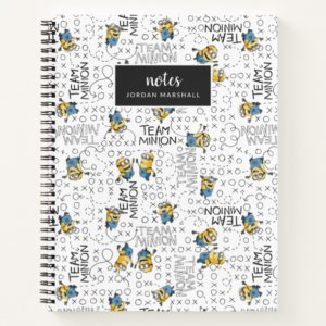 Despicable Me | Team Minion Pattern Notebook