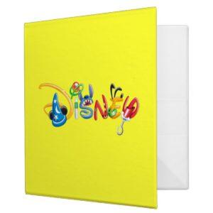 Disney Logo | Boy Characters 3 Ring Binder