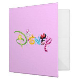 Disney Logo | Girl Characters Binder