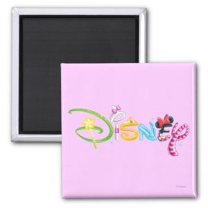 Disney Logo | Girl Characters Magnet