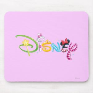 Disney Logo | Girl Characters Mouse Pad