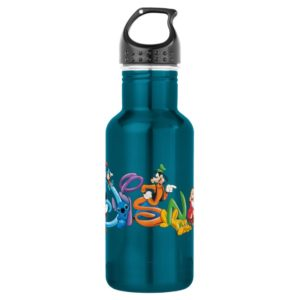 Disney Logo   Mickey and Friends Water Bottle