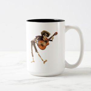 Disney Pixar Coco | Hector | Playing Guitar Two-Tone Coffee Mug