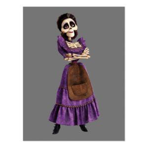 Disney Pixar Coco | Imelda | Skeleton Grandmother Postcard