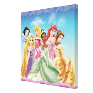 Disney Princess | Tiana Featured Center Canvas Print